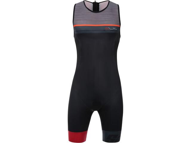 Santini Sleek Plus 775 Traje Triatlón sin Mangas Hombre, red